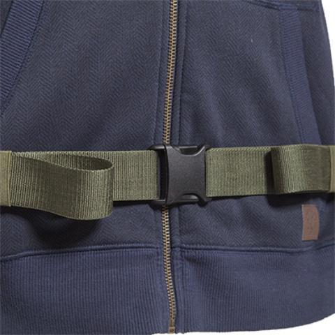 Удобная регулировкая поясного ремня - Станковый рюкзак для переноски тяжелых грузов Lastenkraxe
