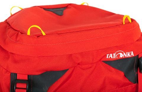 Петли для крепления куртки или каски - Женский трекинговый туристический рюкзак Isis 60 red
