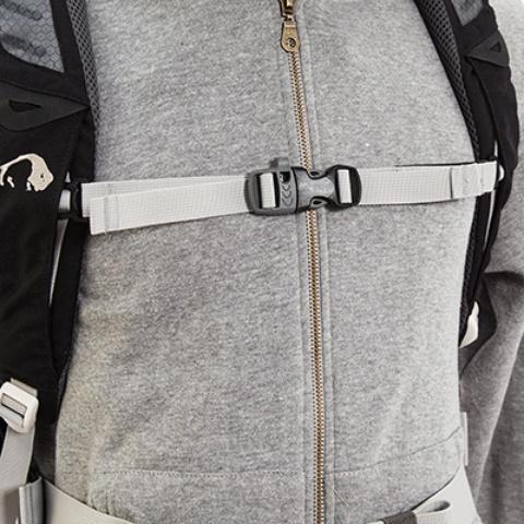 Регулируемый по высоте и ширине нагрудный ремень - Легкий горный рюкзак Cima di Basso 35 blue/carbon
