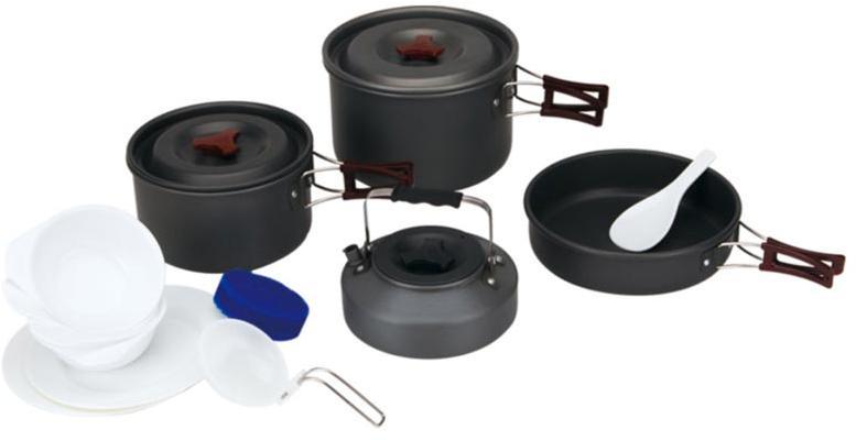 Набор портативной посуды FMC-209, на 4-5 чел.