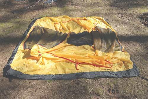 Разложить внутреннюю палатку. Инструкция по Rondo 2 Plus