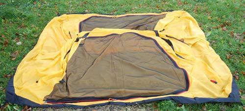 Разложить внутреннюю палатку. Инструкция по Grand Tower 4