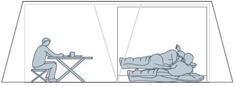 Вариант с подвешиванием спальни. Очень просторный тамбур можно использовать под столовую.. Инструкция по Victoria 5 Luxe