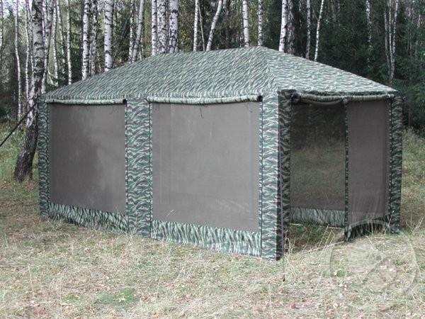 Тент туристический Пикник 2,5х5,0 со стенками