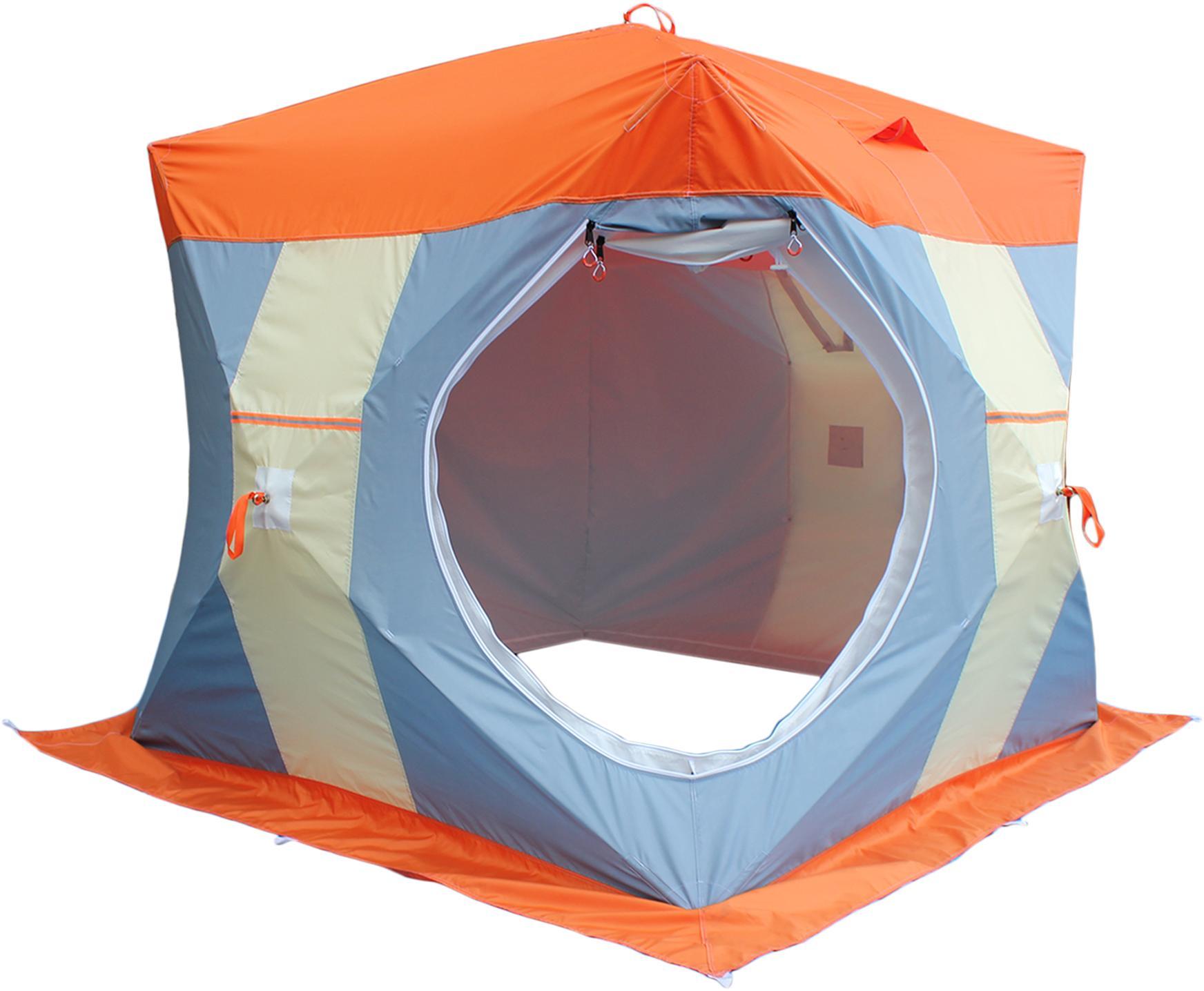 Палатка рыбака Нельма-Куб 2 (двухслойная) - артикул: 488680325