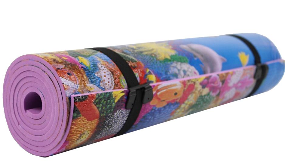 Коврик туристический CM13 180х50х0,6 см. с рисунком