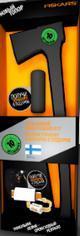 Топор-колун Fiskars Х17 +точилка для топоров (122466)