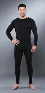Рубашка с длинным рукавомом GUAHOO Health Warm 650-S/BK