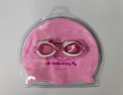 Набор для плавания HELLO KITTY (очки+шапочка) HEY32623