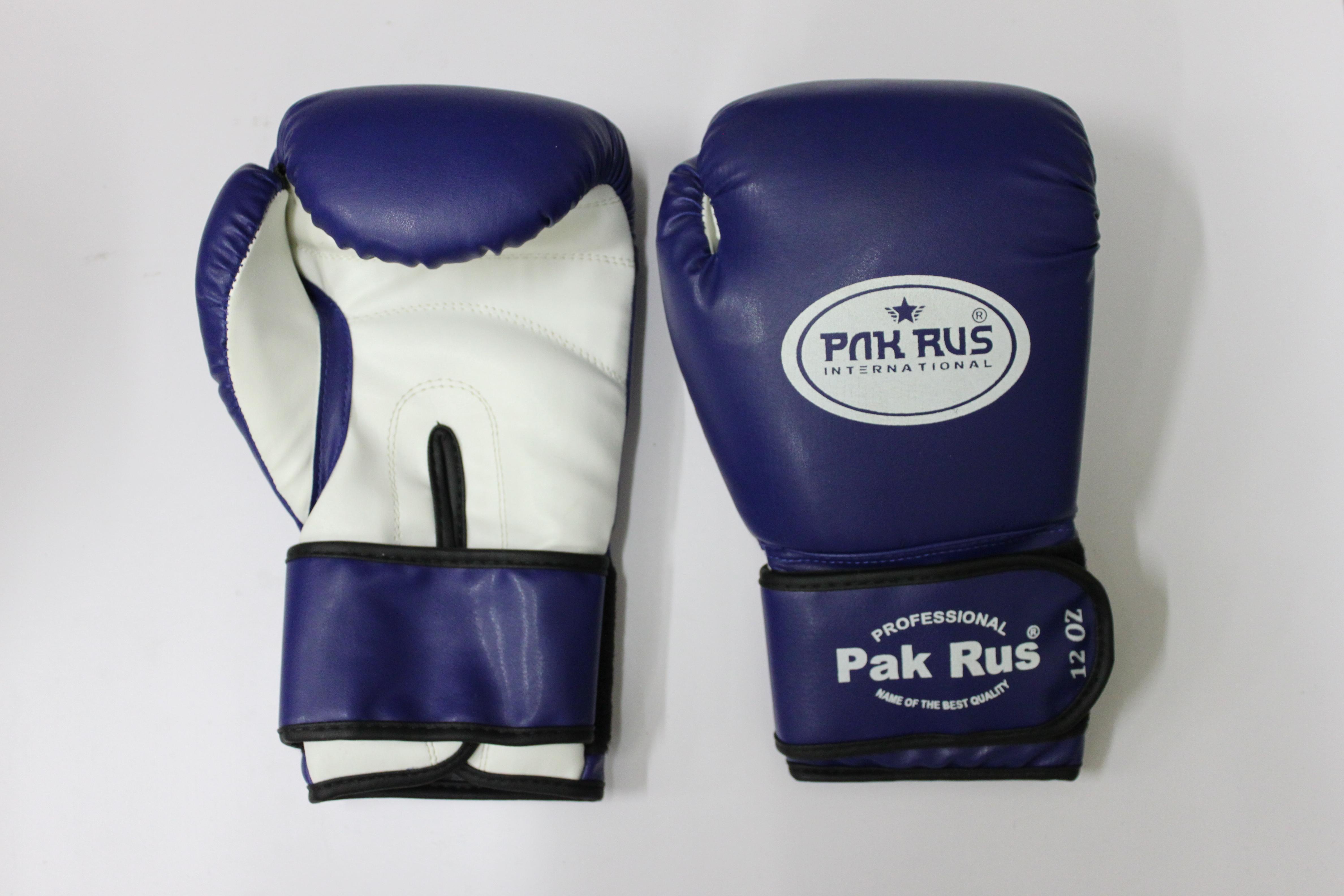 Перчатки боксерские Pak Rus, искусственная кожа, 10 OZ, PR-128881