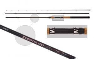 Удилище фидер. Siweida  Impulse  3,6м карбон IM7 (3сек+3хл, до 150г) 0362, Удочки и удилища - арт. 220140337