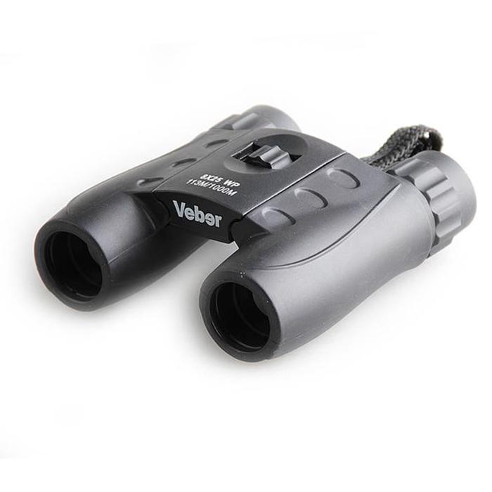 Бинокль Veber WP 8x25 черный