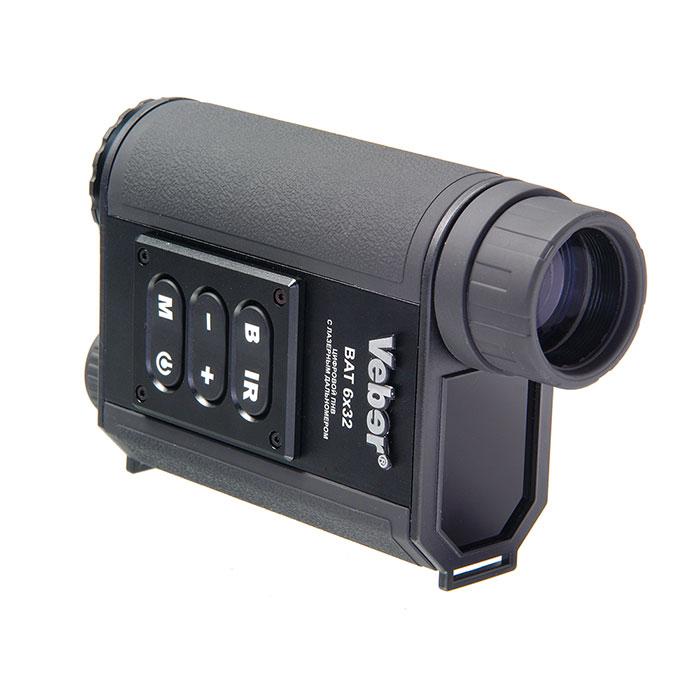 Монокуляр цифровой ночного видения Veber Bat 6x32 c дальномером - артикул: 761320444