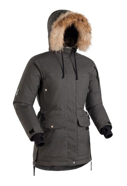 Женская пуховая куртка-парка Баск IREMEL SOFT СЕРЫЙ ТМН XL