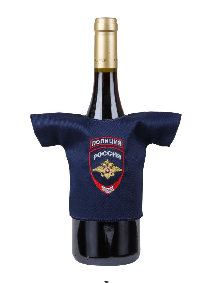 Рубашка-сувенир Полиция Россия МВД вышивка
