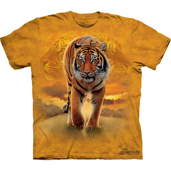 Футболка The Mountain Rising sun tiger
