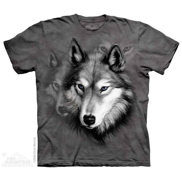 Футболка The Mountain Wolf portrait