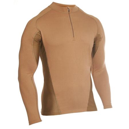Термобелье фуфайка EF Shirt Long Sleeve 1/4 Zip Coyote Tan Blackhawk