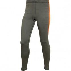 Термобелье брюки Active Polartec Thermal Grid M2 серый/оранжевый