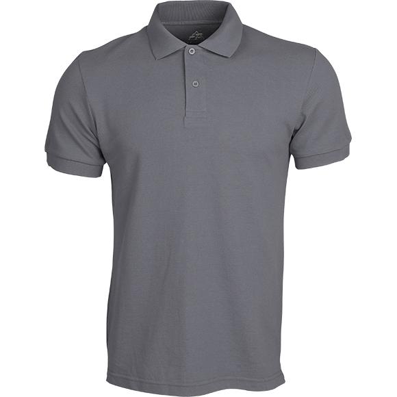 Рубашка Поло Классика серая