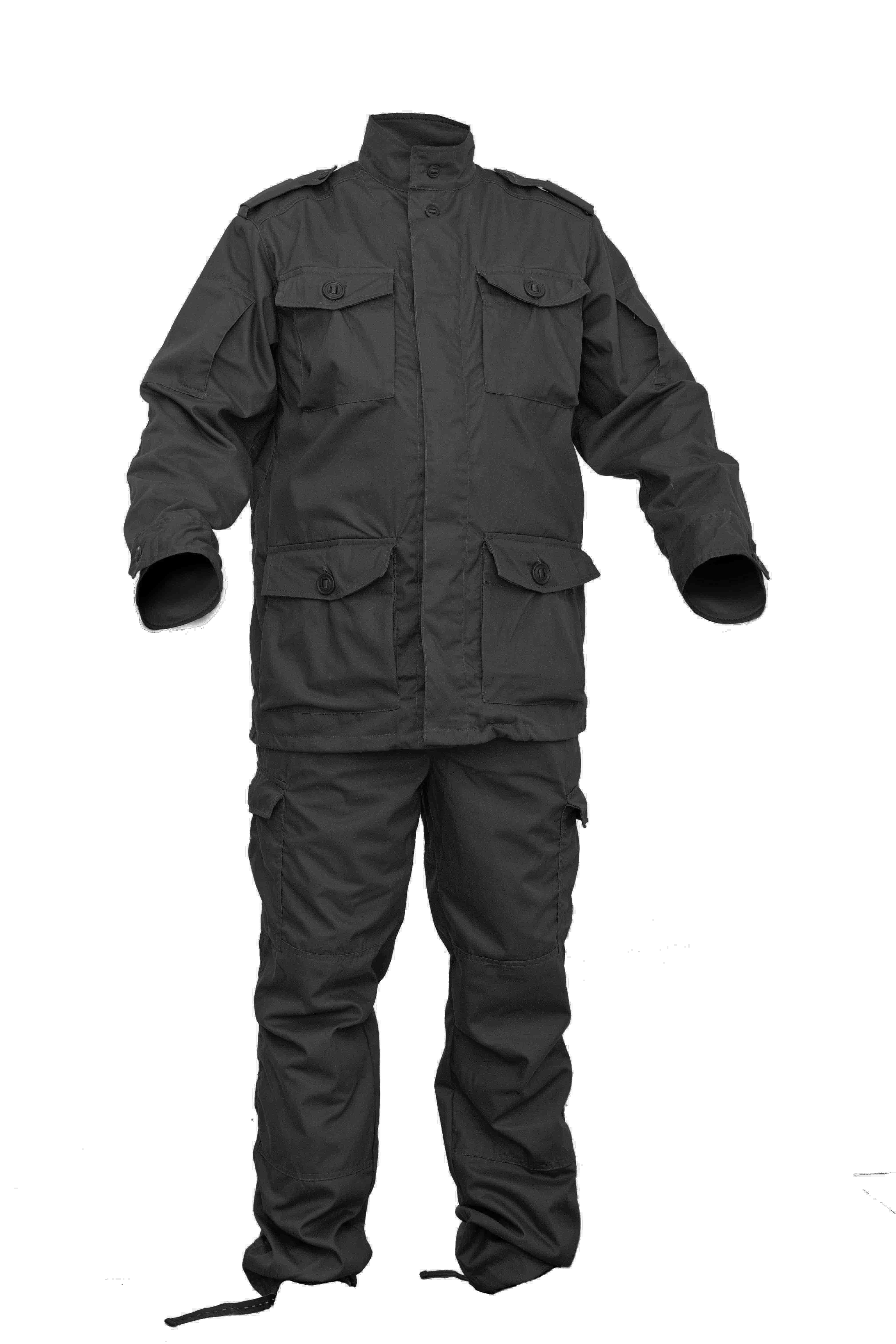 Костюм летний МПА-23 (Парашютист) черный, Мираж-210