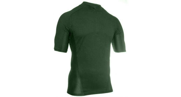 Термобелье футболка EF Shirt Short Sleeve 1/4 Zip Foliage Green Blackhawk