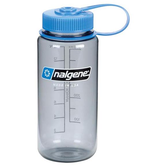 Бутылка Nalgene WM 1 PT GRAY W/ BLUE LID