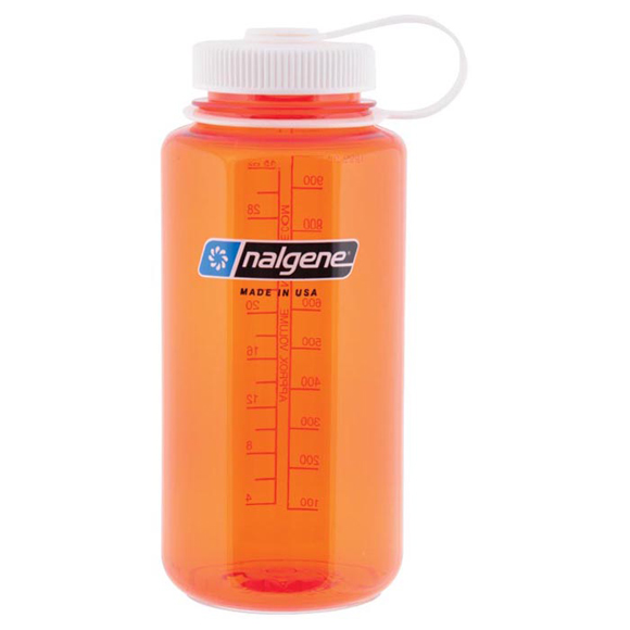 Бутылка Nalgene WM 1 QT ORANGE W/WHITE LID
