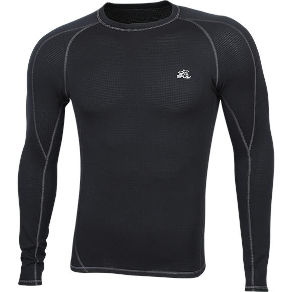 Термобелье футболка L/S Active Polartec Thermal Grid light черная