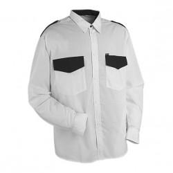 Рубашка Охранник, длинный рукав, белая