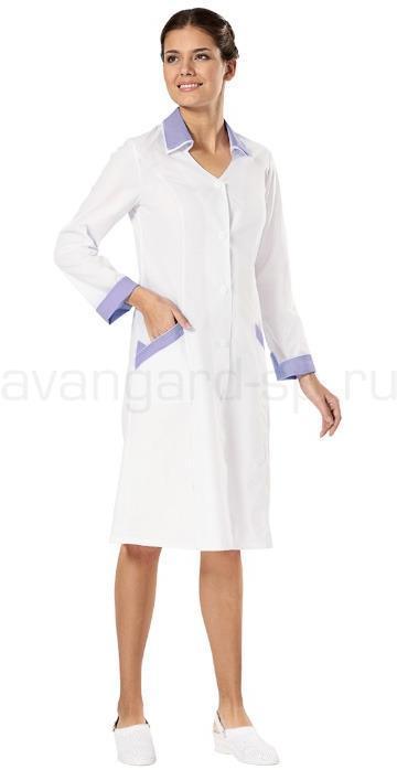 Халат медицинский женский, Мираж