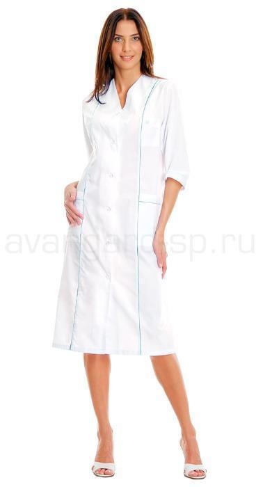 Халат медицинский женский Эдель