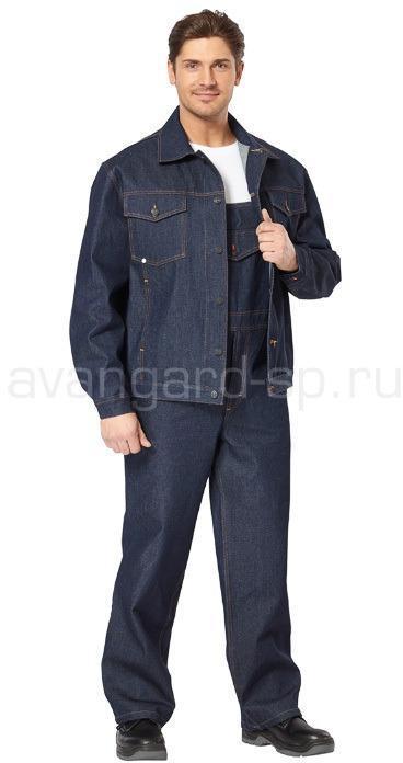 Костюм джинсовый с полукомбинезоном РАСПРОДАЖА