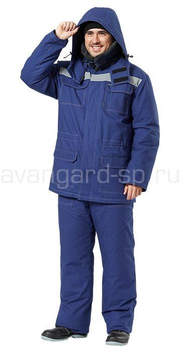 Костюм Легион со съемной подстежкой (синий)