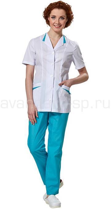 Костюм женский L6103-2, Медицинские костюмы - арт. 465880249