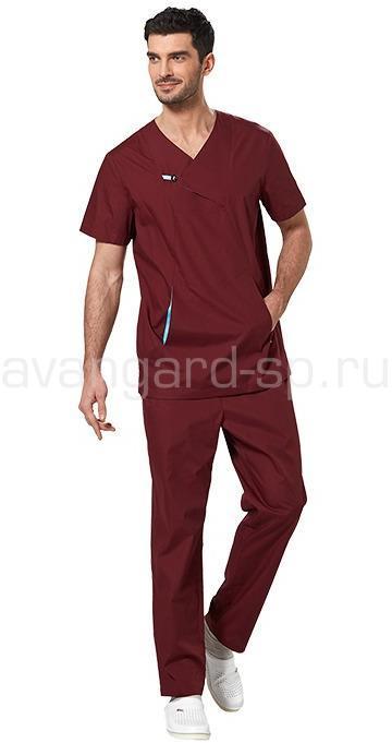 Костюм мужской L6201, Медицинские костюмы - арт. 465220249