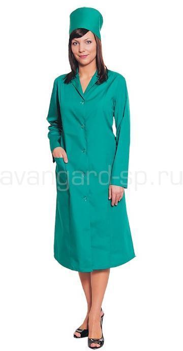 Халат женский с рельефом зеленый (распродажа)
