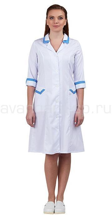 Халат медицинский женский Новелла - артикул: 498430303