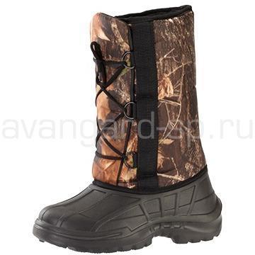Ботинки ЭВА зимние на шнурках, камуфляж