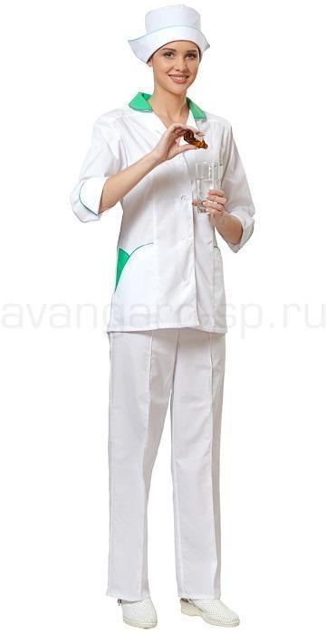 Комплект одежды медицинской женской Настроение(блуза и брюки) РАСПРОДАЖА