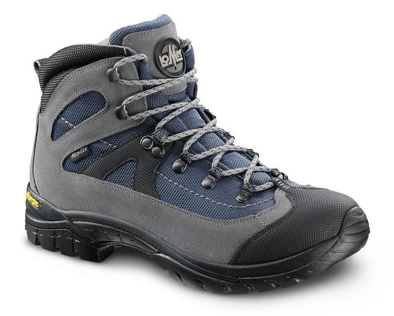 Ботинки трекинговые LOMER Fiemme gray/navy/black