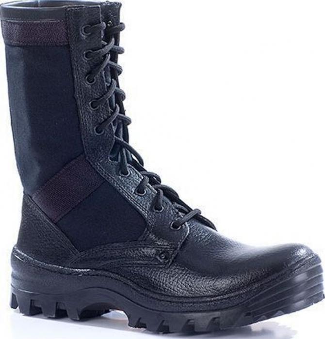 Ботинки облегченные с высокими берцами ТРОПИК кожа-хб 016