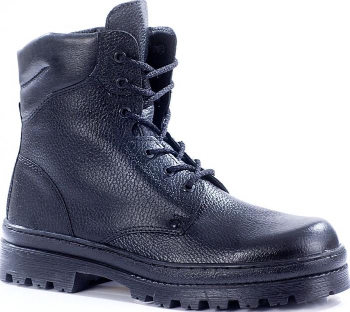 Ботинки с высокими берцами ПИЛОТ кожа 136