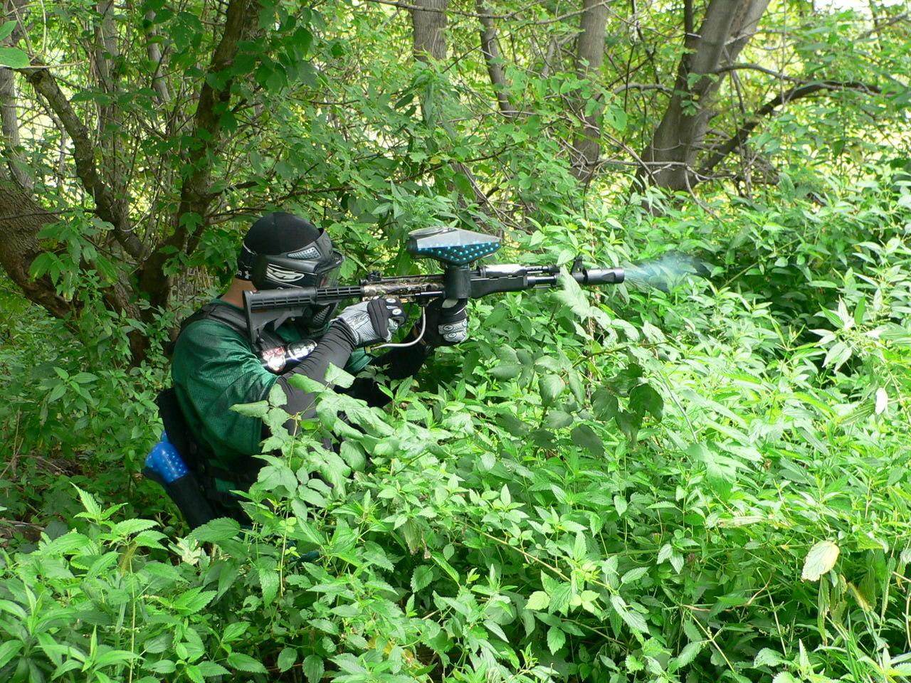 пейнтбольный снайпер
