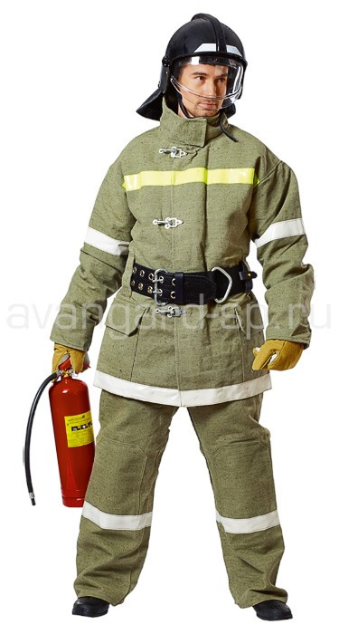 Боевая одежда пожарного 2 уровня защиты