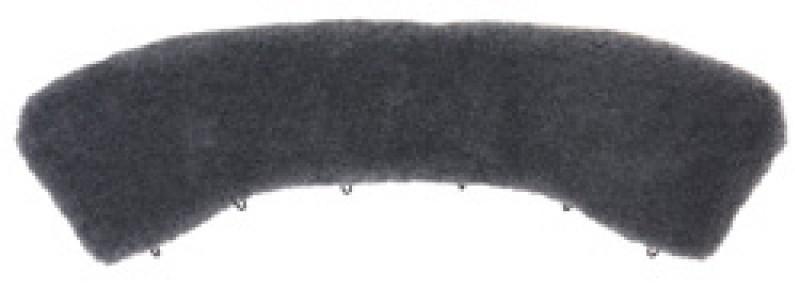 Воротник черный искусственный мех