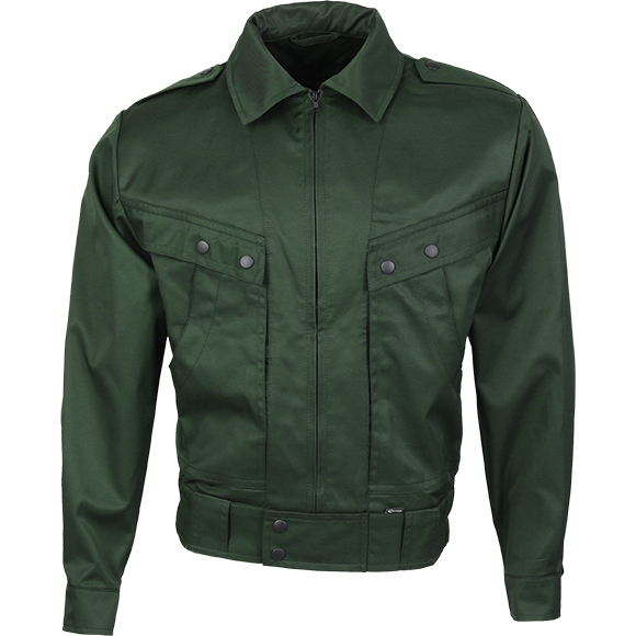 Куртка летняя Охранник М4 зеленая гретта