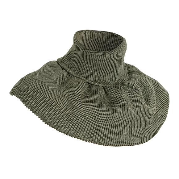 Морской шарф оливковый