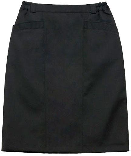 Юбка М2 полушерстяная черная