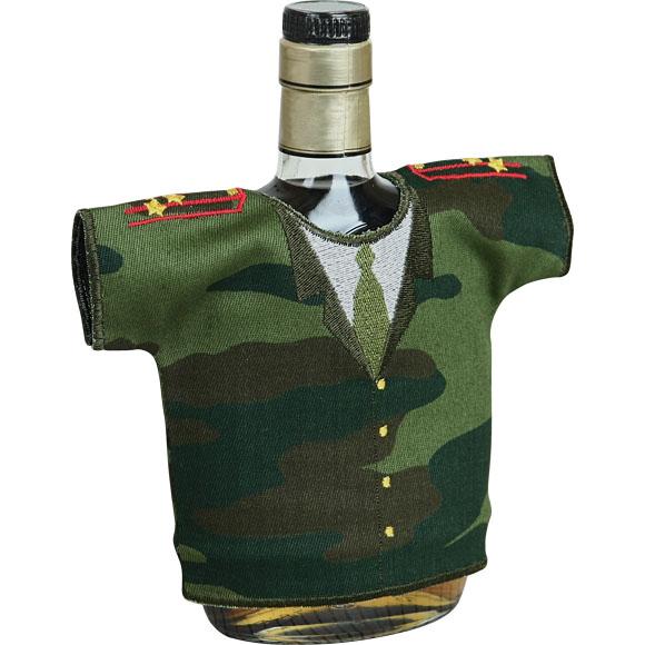 Рубашка-сувенир Настоящий полковник камуфлированная вышивка